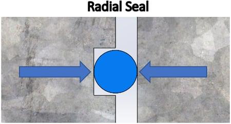 ingress Radial Seal Side