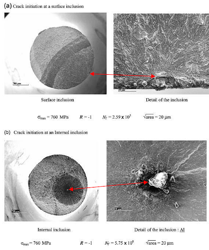 BESBlog_Photo-micrographs of SUJ2 bearing steel failure surfaces