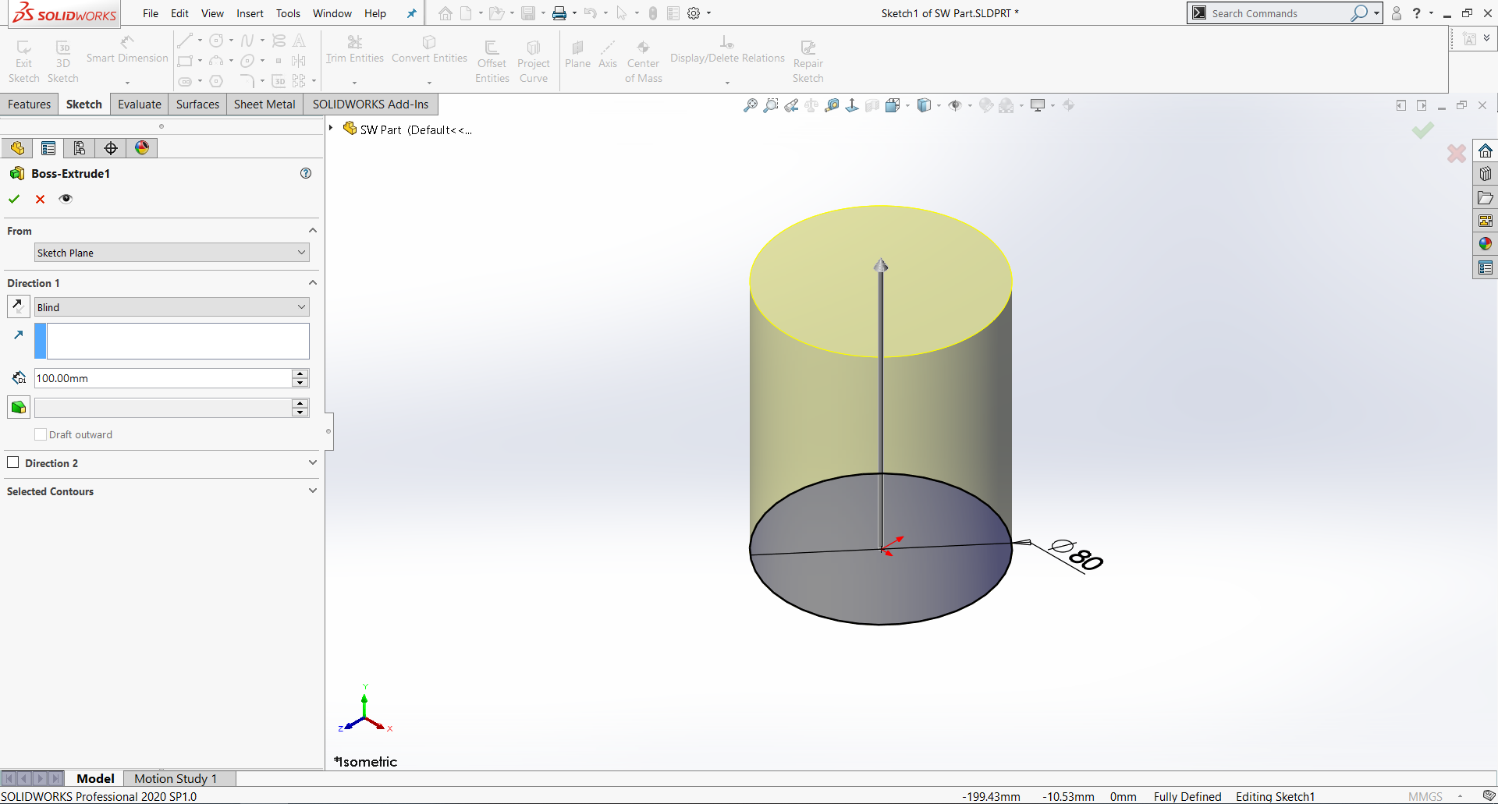 solidworks_vs_onshape-SolidworksExtrude