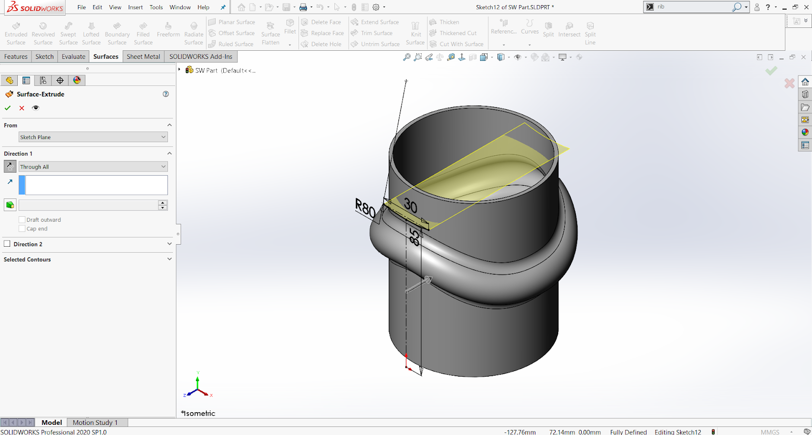 solidworks_vs_onshape-SolidworksSurfaceExtrude