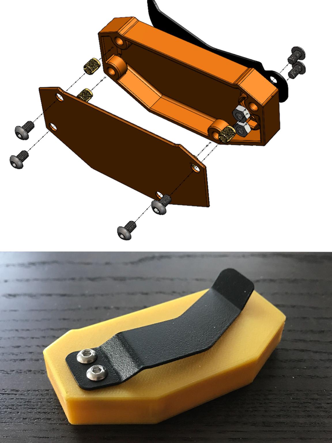 Integrating 3D Printing and Sheet Metal